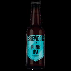 Bière blonde BREWDOG punk Indian Pale Ale 5°4 33cl
