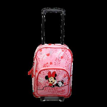 Walt Disney Sac À Dos À Roulettes Maternelle Minnie, 30x12x41cm