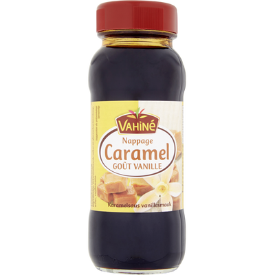 Nappage au caramel saveur vanille VAHINE, 210g