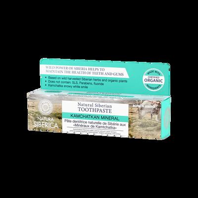 Dentifrice naturel de Sibérie aux minéraux de kamtchatka NATURA SIBERICA, tube de 100g