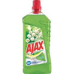 Nettoyant fête des fleurs muguet AJAX, flacon de 1,25l