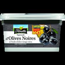 Tapenade d'olive noire, FLORETTE, sachet 175g