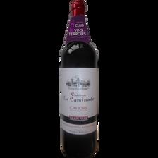 CVT Cahors AOP rouge Château la Caminade Grain noir MDC, bouteille de75cl
