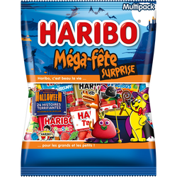 Mega fête surprise halloween HARIBO, 800g