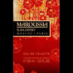 Eau de toilette Maroussia SLAVA ZAITSEV, vaporisateur de 30ml
