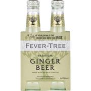 Fever Tree Ginger Beer Fever Tree, 4x20cl