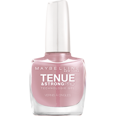 Vernis à ongles tenue & strong rose poudre 130 MAYBELLINE, nu