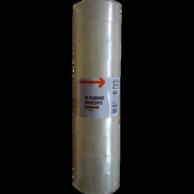 Ruban adhésif, 19x25x10 mm, transparent