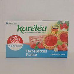 Tartelettes à la fraise KARÉLÉA paquet 150g