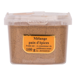 Melange pour pain d'épices, pot 100g