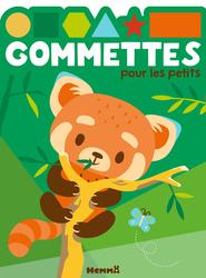 Gommettes pour les petits générique:panda roux