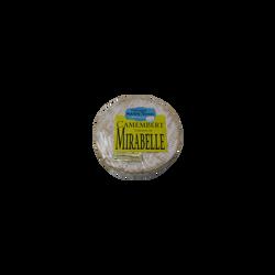 Camembert à la mirabelle au lait pasteurisé, 21%MG, 240g