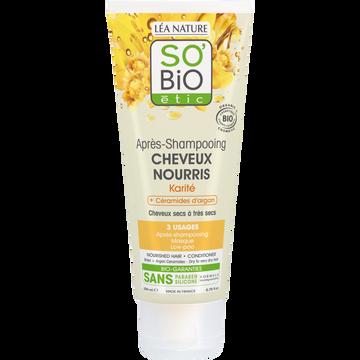 SO'BiO étic Après-shampooing Cheveux Nourris Karité So'bio, 200ml