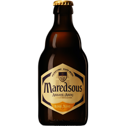 Bière blonde d'Abbaye refermentée MAREDSOUS, 6°, 33cl