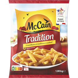 Frite tradition MC CAIN, 1,040kg