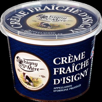 Crème fraîche épaisse AOP ISIGNY SAINTE MERE, 35% de MG, 50cl