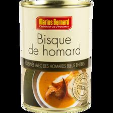 "Bisque de homard ""Cardinal"" MARIUS BERNARD, 400g"