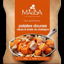 Gourmandises de patates douces cèpes et éclats de châtaigne MAGDA, 450g