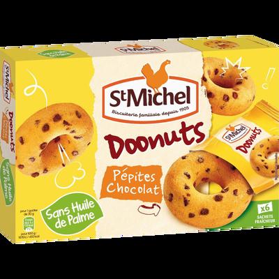 Doonuts pépites chocolat ST MICHEL, 180g