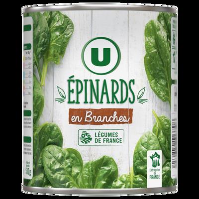 Epinards en branches U boîte 4/4