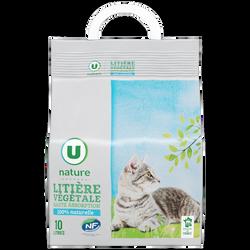 Litière végétale pour char haute absorption Nature U, 10l