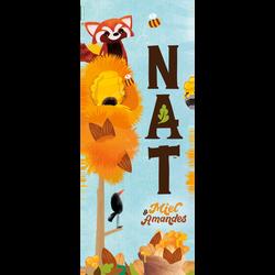 Granola miel et amandes NAT, 270g