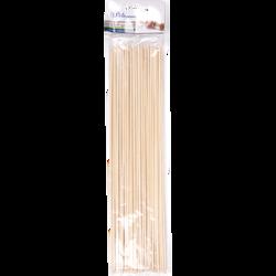 Brochettes en bois U, 30cm, pack de 50