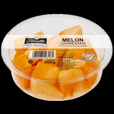 Melon charentais, FLORETTE, barquette 200g