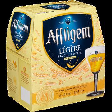 Affligem Bière Blonde Cuvée Légère Affligem, 4,6° Pack De 6x25cl