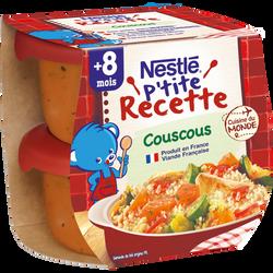 P'tite Recette couscous NESTLÉ, 2x200g