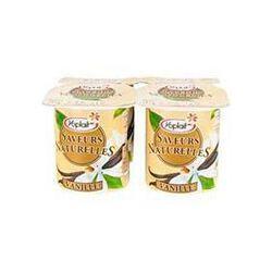 Yaourts à la vanille Saveurs Naturelles YOPLAIT, 4x125g