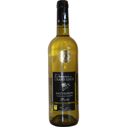 """Vin blanc IGP Val de Loire sauvignon """"Domaine du Grand Logis"""""""