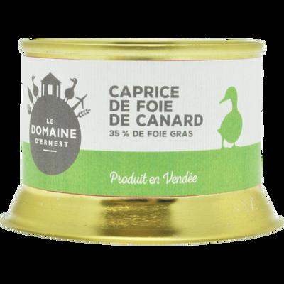 Caprice de foie de canard LE DOMAINE D'ERNEST, 130g