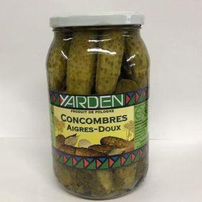 Concombres Aigres-doux 860g