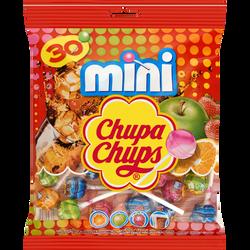 Mini sucettes aux goûts assortis CHUPA CHUPS, 180g