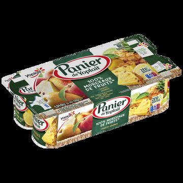 Yoplait Yaourt Sucré Aux Fruits Jaunes Panier De Yoplait, 8x130g