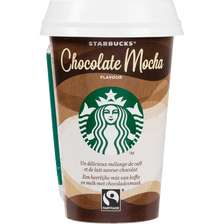 Chocolat mocha STARBUCKS, cup de 220ml