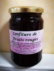 SARAH DEJEAN CONFITURE DE FRUITS ROUGES BIO 350G