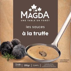 Sauce à la truffe(tuber brumale)cuisiné aroma surgelé MAGDA, 200G