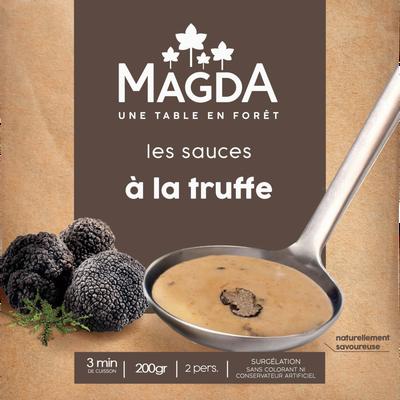 Sauce à la truffe(tuber brumale)cuisiné.aroma.surg.MAGDA200G