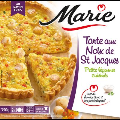 Tarte aux noix de St Jacques au Noilly MARIE, 350g