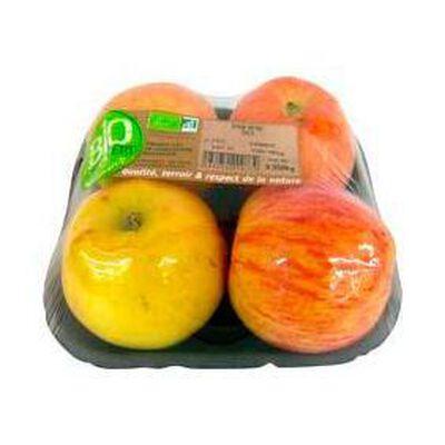 Pommes gala bio, 4 fruits