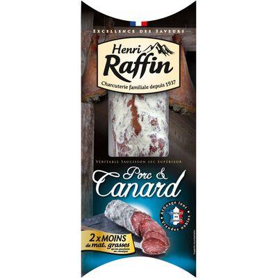 Saucisson sec au canard HENRI RAFFIN, étui 200g