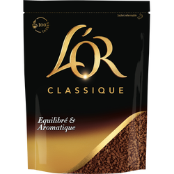 Café Soluble L'OR Classique Recharge 180g