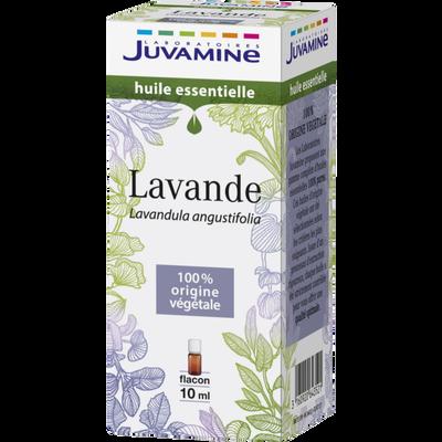 Huile essentielle lavande JUVAMINE, flacon de 10ml