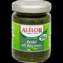 Sauce pesto ail des ours bio, ALELOR, 125g