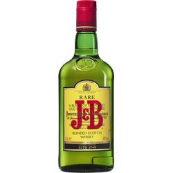 Scotch whisky J&B Rare, 40°, bouteille de 1,5l