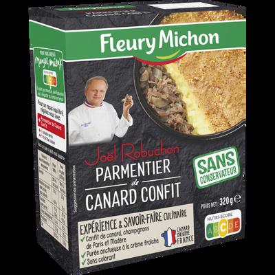 Le Fameux parmentier de canard Joël Robuchon FLEURY MICHON, 320g