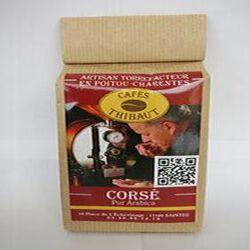 Café pur arabica, corsé, 250gr, sachet, Café Thibaut