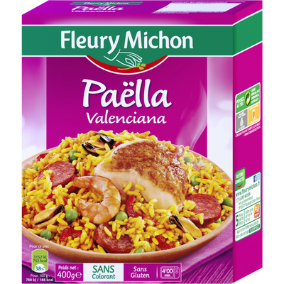 Paëlla Valenciana FLEURY MICHON, 400g